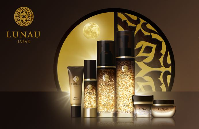 Лунау - косметика на основе листового и коллоидного золота для красоты и молодости кожи лица